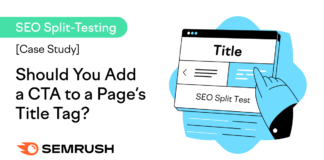 Case Study: Should You Add a CTA to a Page's Title Tag?