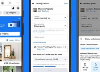 Facebook Adds New Shipping Options to Marketplace Facilitating More eCommerce Activity